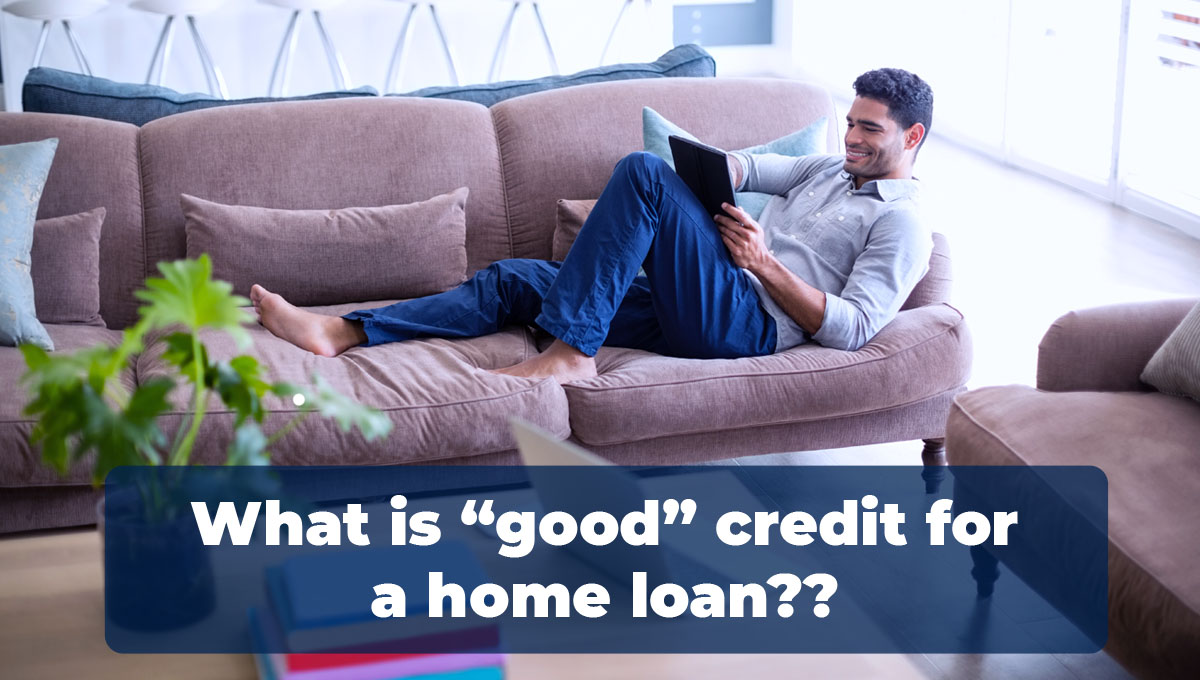 Man learning how to get excellent credit for a home in santa clarita